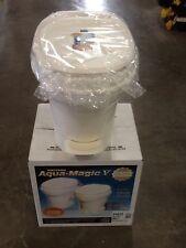Thetford Aqua Magic V FOOT Flush HIGH , PARCHMENT RV Trailer Toilet NEW 31672