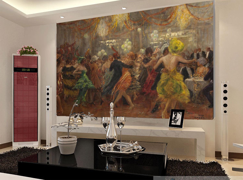 3D Ölgemälde Ball Kunst 9093 Tapete Wandgemälde Tapeten Bild Familie DE Lemon