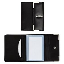 Rolodex Personal Business Card Holder 36 Card Capacity Black
