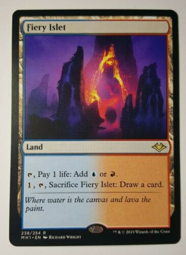 Modern Horizons Fiery Islet Rare Magic//mtg
