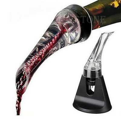 Quick Aerating Pourer Spout Decanter Red Wine Mini Travel Aerator Essential Set
