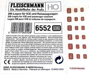 DB-logos-pour-voiture-FERROVIAIRE-GLACE-ETC-FLEISCHMANN-6552-H0-Neuf
