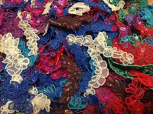 Collection-MINI-APPLIQUES-12pcs-DOLLS-Hand-Sewn-Sequins-SCRAPBOOKING