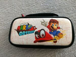 Details About Nintendo Switch Carrying Case Super Mario Odyssey Rare Limited Edition