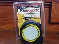 Fastcap 16' Tape Measure Metric/standard With Pencil Sharpener Pro Carpenter
