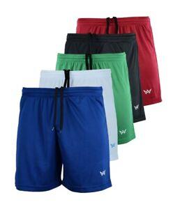 Pantaloncini-Da-Uomo-Calcio-Dri-Fit-Park-Palestra-Allenamento-Sport-in-esecuzione-breve