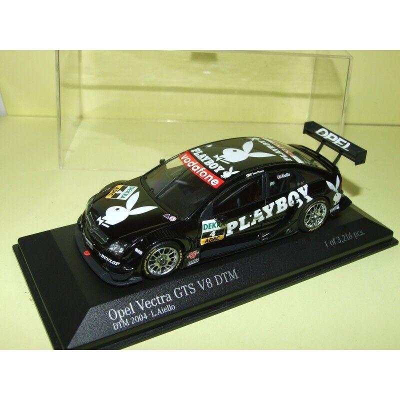 OPEL VECTRA GTS V8 DTM 2004 PLAYBOY AIELLO MINICHAMPS 1 43 Arrivée 10ème