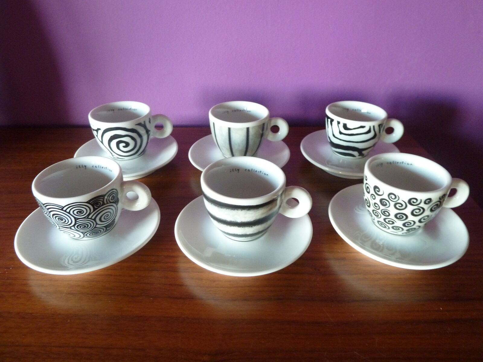 ILLY COLLECTION 1995 SPIRALI BY ROBERTA PIETROBELLI-SIGNED AND NUMBERED