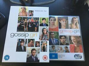 Gossip-Girl-Season-One-Four-1-5-19-Discs-Original-Boxset-PAL-RARE
