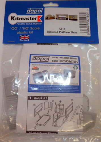 New Dapol Kiosk /& Steps C018 Suit Hornby