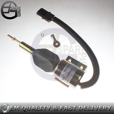 Diesel Engine Shutoff Solenoid 3932530 SA-4756-24 for Cummins 5.9L 6BT Excavator