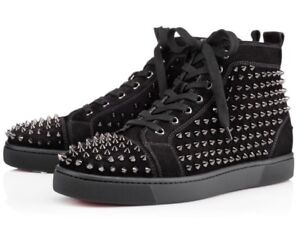 Details About Christian Louboutin Red Bottoms Men S Sz 42 5 Black Black
