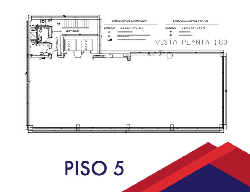 Oficina en renta en Paseo De La Reforma (m2o9)