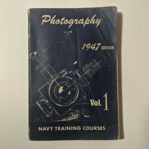 VTG-WWII-Photography-Vol-1-Navy-Training-Courses-1947-edition-NAVPERS-10371