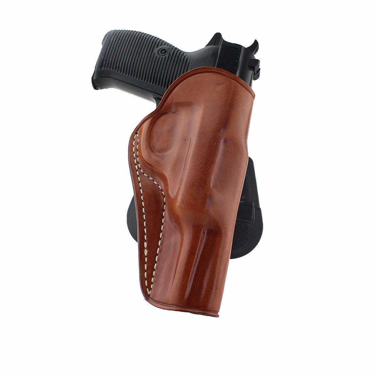 Funda de Cuero Remo se ajusta Walther P38 9mm 4.9 Bbl, mano derecha