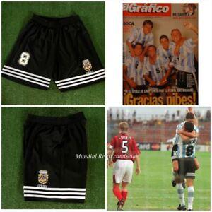 Maradona Argentina world cup 1986 Short pantaloncini home retro