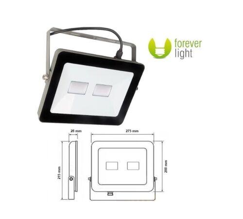 LED Außenbeleuchtung Bau Strahler Haus Hof Garten Fluter 50W~220W 4500K 3750lm