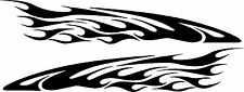 "Vinyl Decals Racing Flames Vehicle Car Truck Go Kart Boat Graphics Stickers 50"""