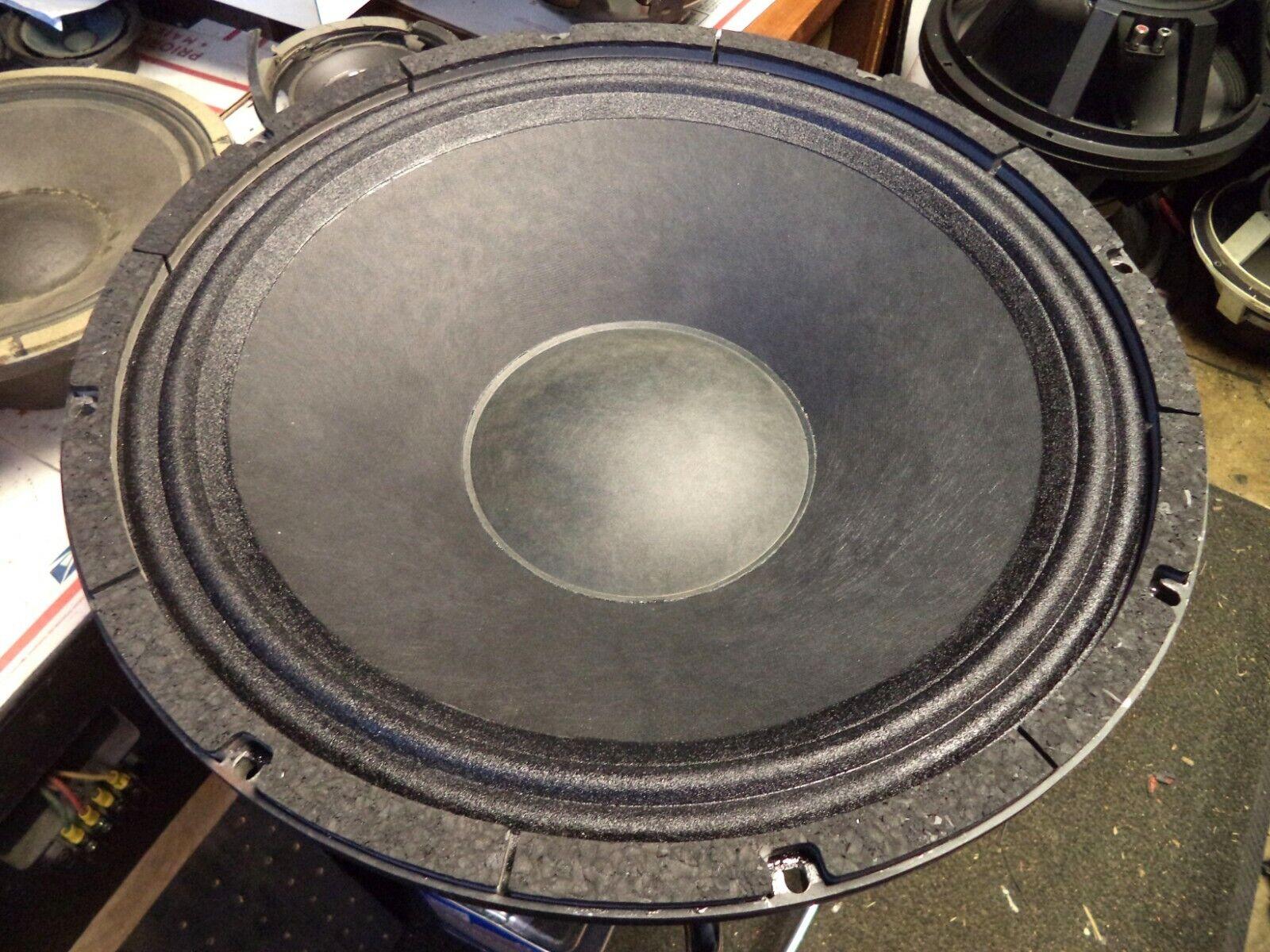 B52 18  Woofer RECONE SERVICE   B52 18-220S Speaker Repair   18  Recone Service
