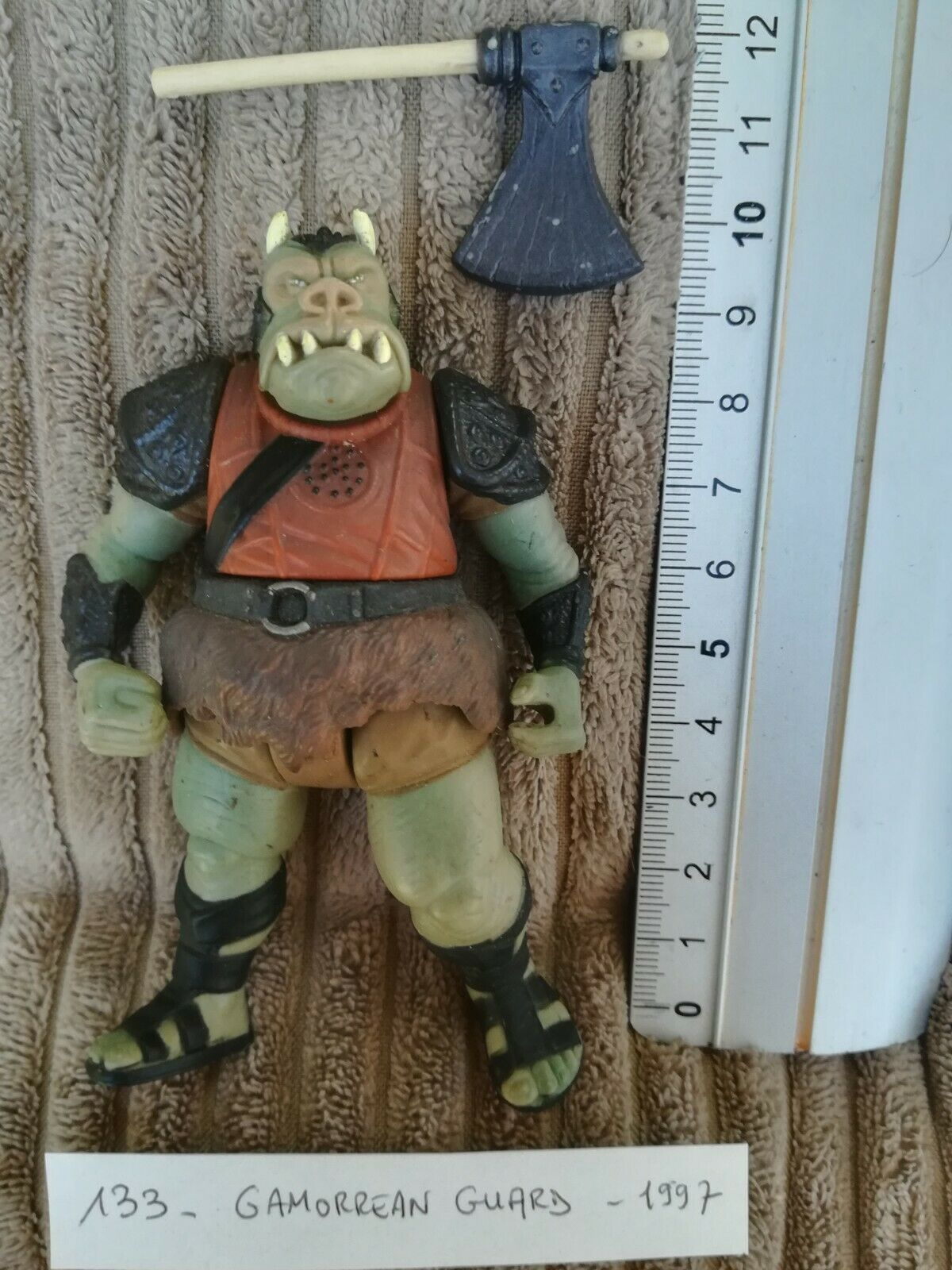 StarWars collection : figurine STAR WARS 133 : GAMORREAN GUARD - 1997