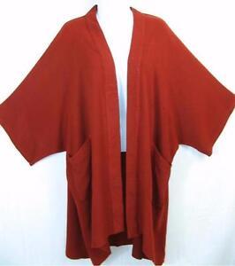 quiltet ~ blød Tienda draperet spansk ~ ~ Kimono Ho ~ marokkansk Rød Duster bl1 os bomuld ~ ~ ~ 6YBYq