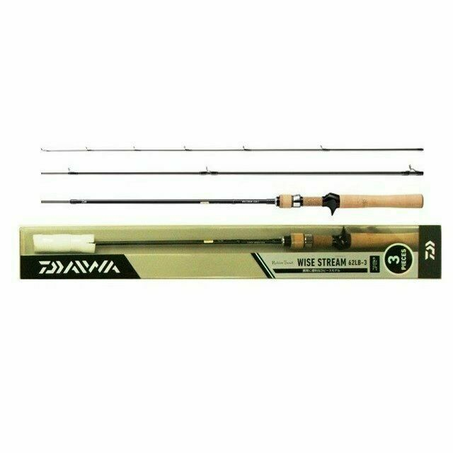 Daiwa Wise Stream 62 Lb-3 Baitcasting Rod From Japan for sale online