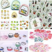 Lot Paper Sticker Cartoon Flower Art Sticker Craft Album Scrapbooking Decor Hot