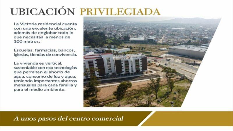 """Departamentos nuevos en Venta """"Residencial La Victoria"""" Amalucan Puebla"""