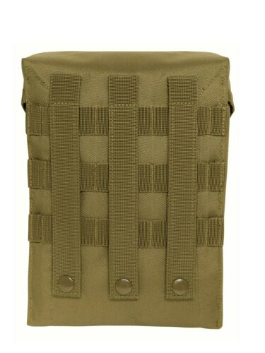 Coyote Brown MOLLE II 200 Round Saw Pouch Polyester
