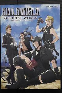 JAPAN-Final-Fantasy-XV-Official-Works-Art-Guide-Book