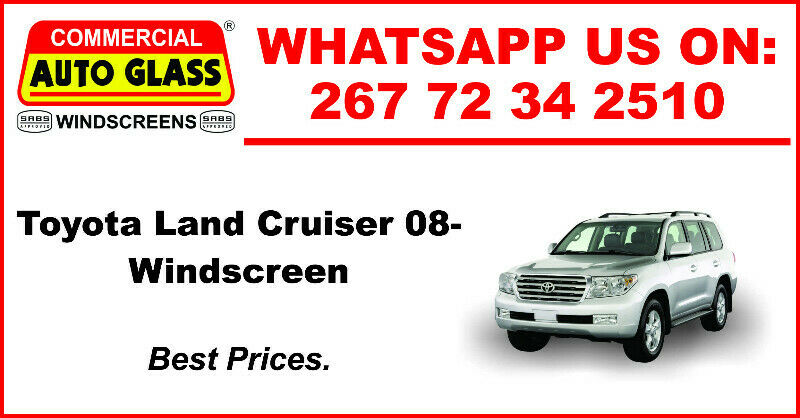 Windscreen For Toyota Land Cruiser 08 For Sale