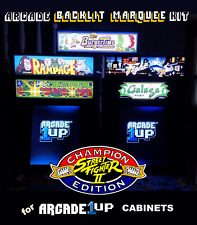 Arcade1up Cabinet Street Fighter II 2 Arcade Game Marquee Graphic Decal Sticker