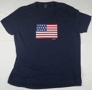 T Shirt Rare 90s Polo Blue Usa Details Xl Flag Ralph Lauren Size Out Vintage Sport Spell About kPXZ0wOnN8