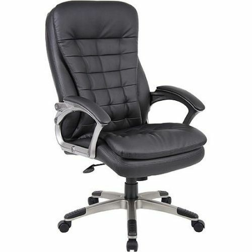 High Back Office Chair And Tall Executive Heavy Duty Armrest Ergonomic Dorm Ebay