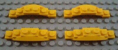 LEGO Lot of 8 Dark Purple Flared Car Truck Vehicle Mudguard Plate Pieces