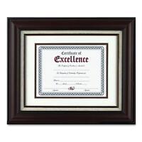 Burnes Home Accents Wall Frame W/certificate 11x14 Mahogany N15907b on sale