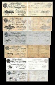 Grande-Bretagne -  2x 5 - 500 Pounds - Edition 1934 - 1944 - Reproduction - 09