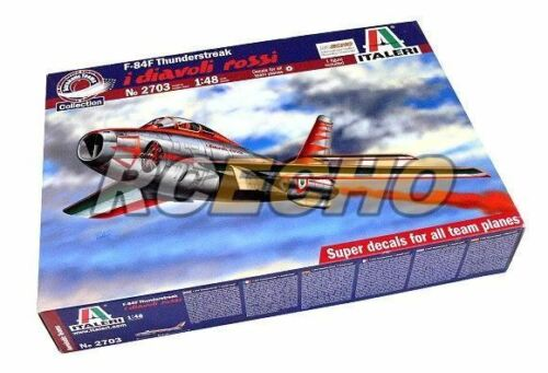 ITALERI Aircraft Model 1//48 F-84F Thunderstreak i diavoli rossi Scale Hobby 2703