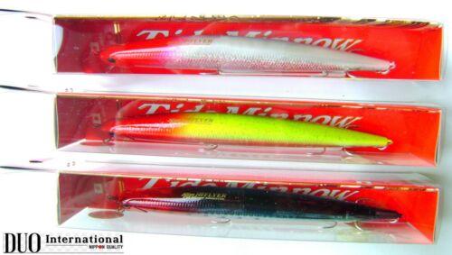 Hard Duo Tide Minnow Slim 140 Flyer Red Head Limited Salt Water Fish Bait