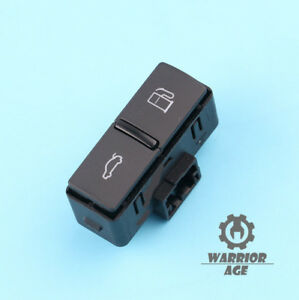 Trunk Boot Lid /& Fuel Flap Unlock Release Switch for Audi A8 S8 Quattro 04-10