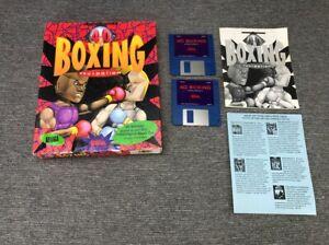 4D Sports Boxing (Commodore Amiga, 1991)   Distinctive Software