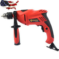 1/2 7.0 Amp 120v Variable Speed Corded Electric Drill 0-3000 Rpm Power Tool