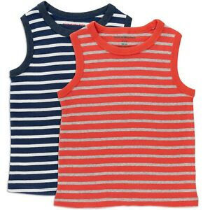 Boys-tank-top-tshirt-2-pack-age-2-3-4-5-6-7-y-Mini-Boden-quality-striped