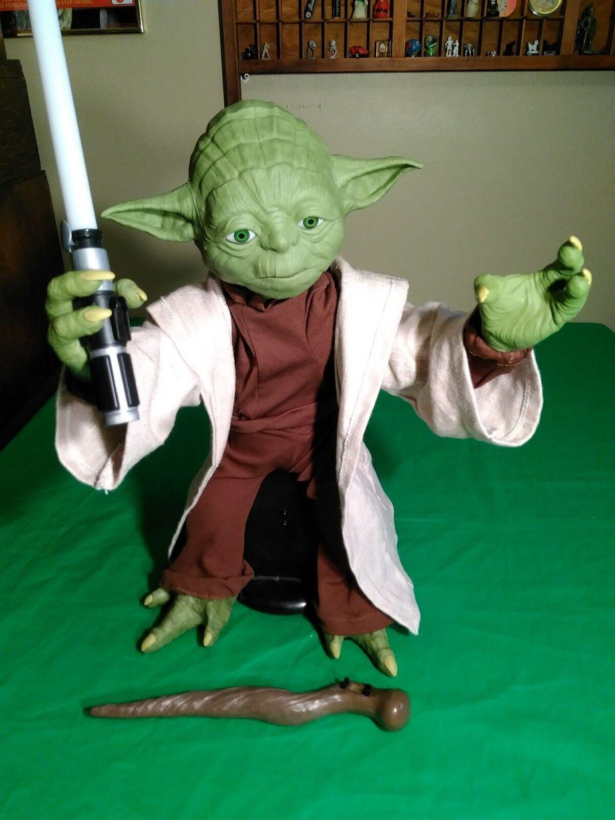 Star wars jedi - meister yoda interaktive mit legendären action - figur