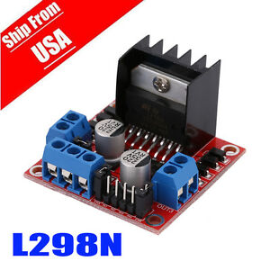 L298N DC Stepper Motor Driver Module Dual H Bridge Control Board for Arduino OEG