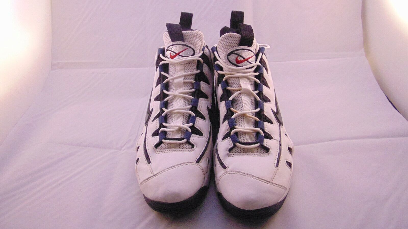 Nike Air Max NM Mens 429749 165 White White White Pr bluee