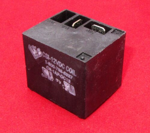 CSI Relay 12VDC 155 OHM Coil Sealed  20A 250VAC Contacts TE PB C9-1AP-DC12 N