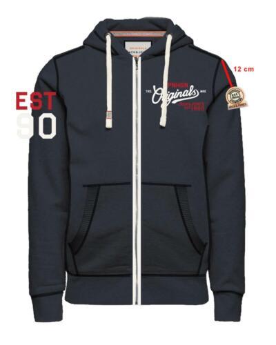 Jack /& Jones Sweatjacke Zip Hood Jacke mit Kapuze