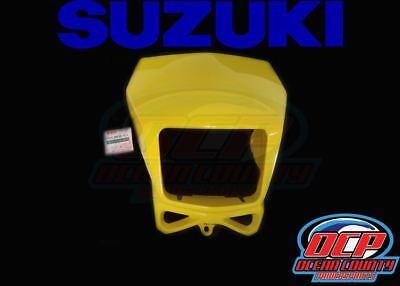 2002-2017 SUZUKI DR-Z DRZ 400S SM DR 200 650 OEM HEAD LIGHT COVER MASK Black
