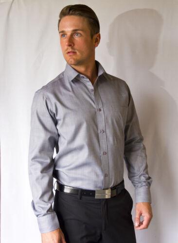 2 Ply 100/% Egyptian Cotton Mens Business Formal Dress Shirt COTTIZA